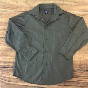 Boys button down classy long sleeves shirt formal